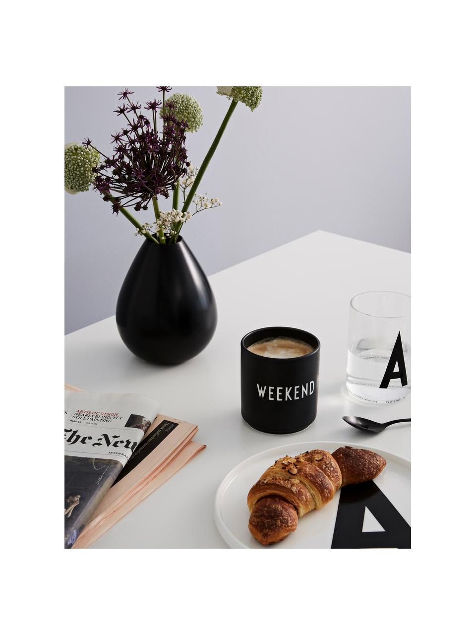Mug Favourite, Noir, blanc