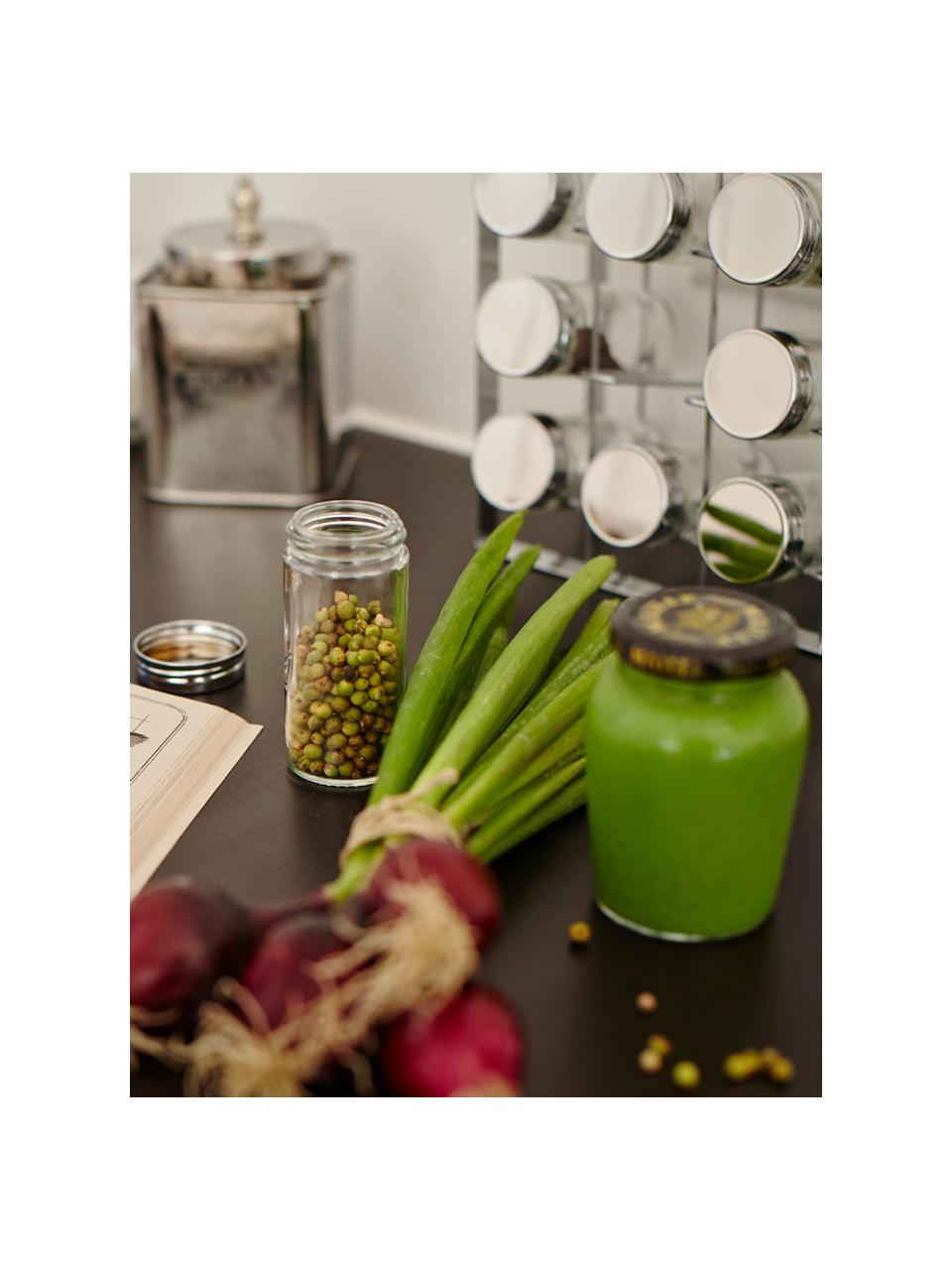 Ménagère à épices Spices, 13élém., larg. 24 x haut. 22cm, Couleur argentée