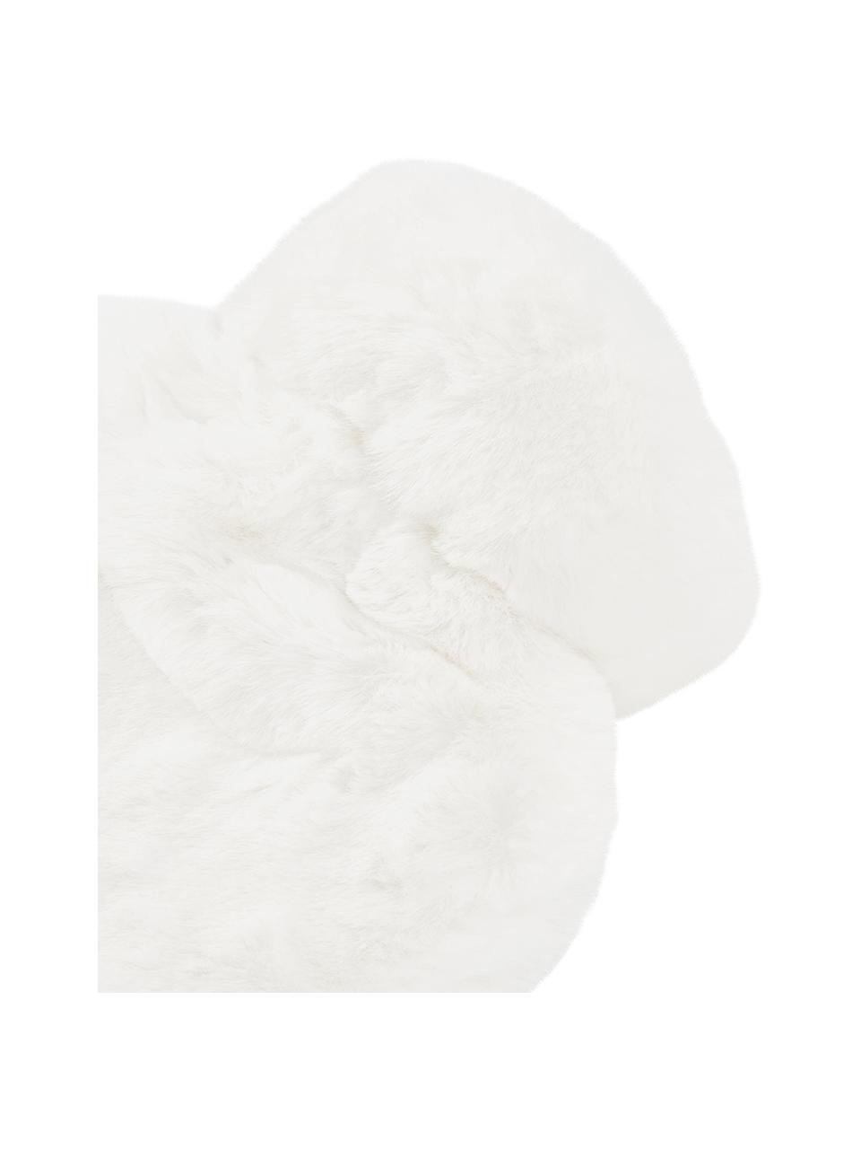 Termofor ze sztucznym futrem Mette, Tapicerka: 100% poliester, Kremowy, S 23 x D 35 cm
