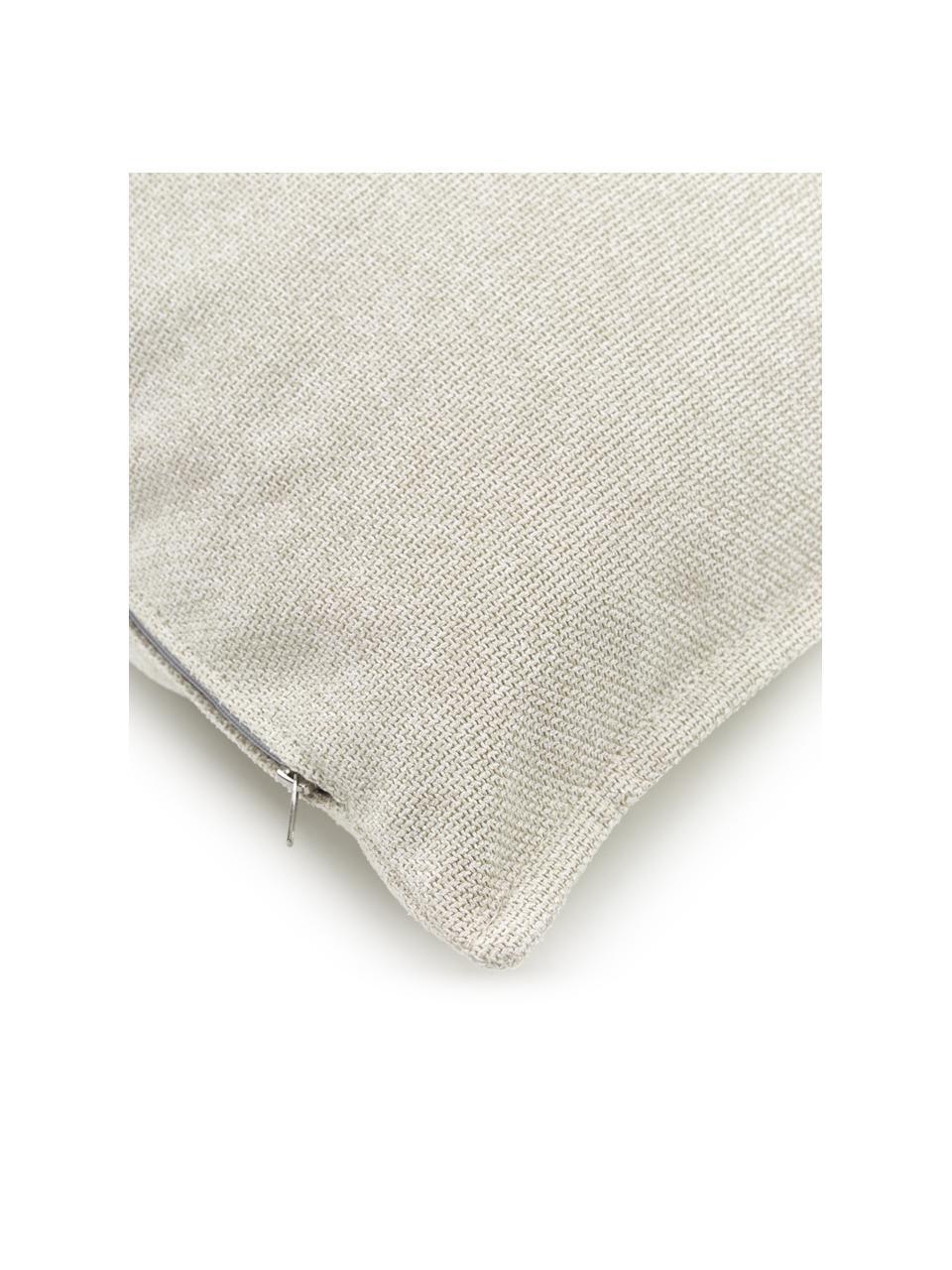 Sofa-Kissen Lennon in Beige, Bezug: 100% Polyester, Beige, 60 x 60 cm