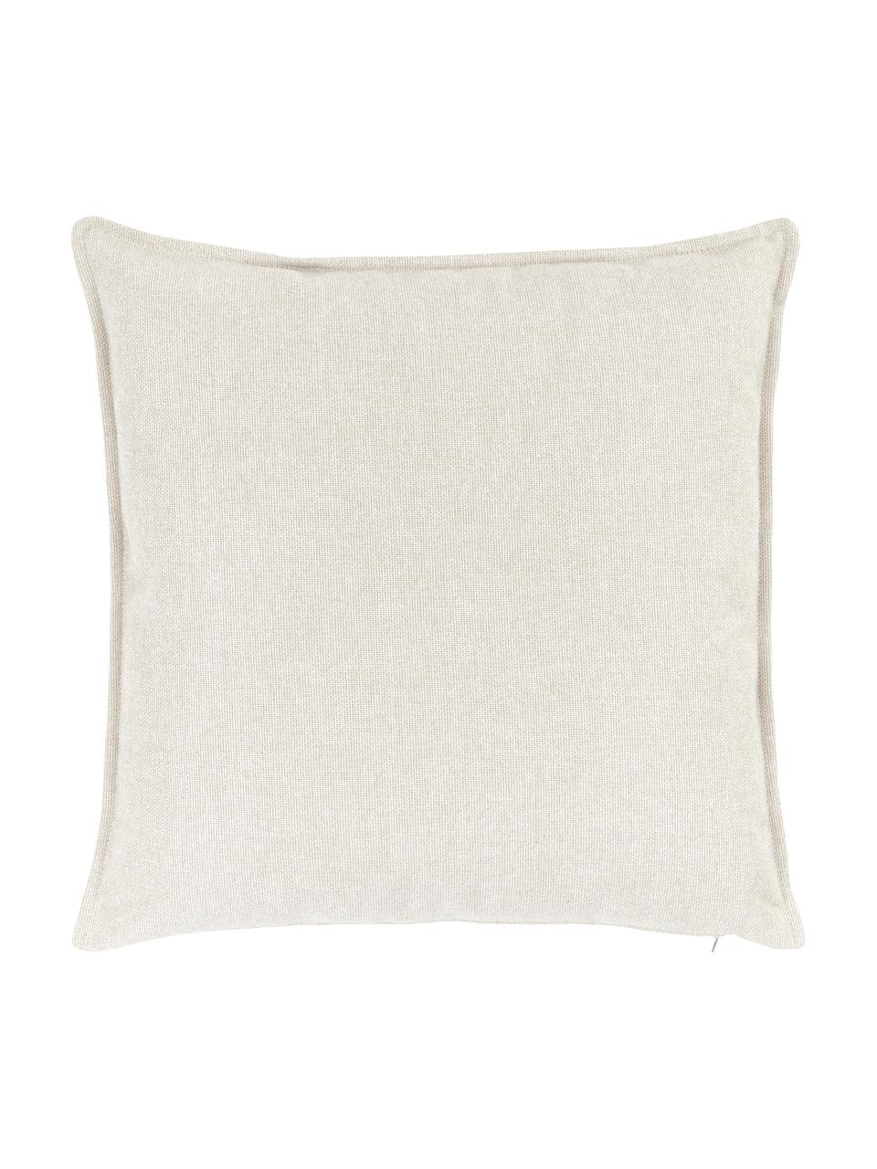 Bankkussen Lennon in beige, Beige, 60 x 60 cm