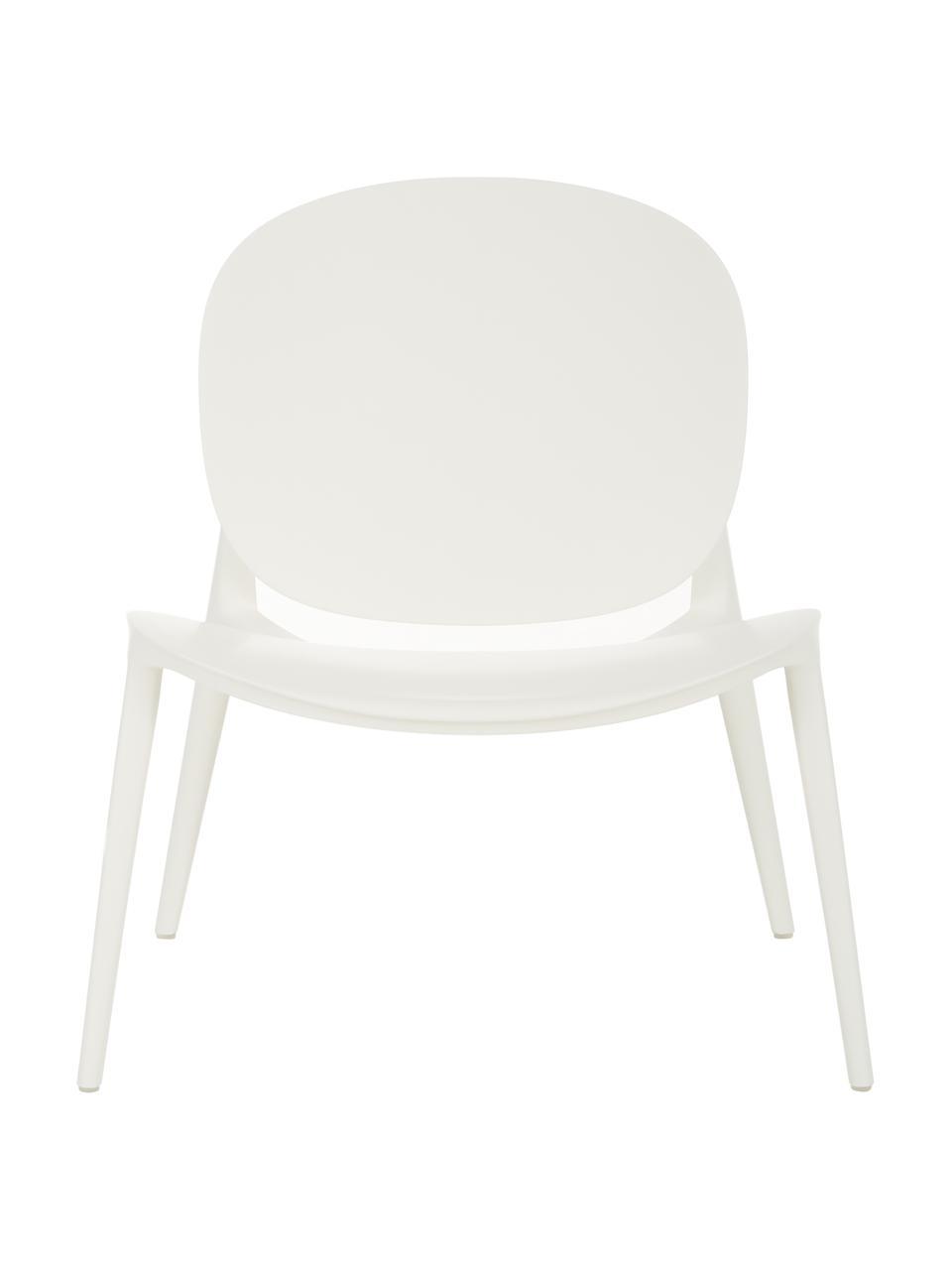 Loungesessel Be Bop aus Kunststoff, Polypropylen, modifiziert, Weiß, B 69 x T 62 cm