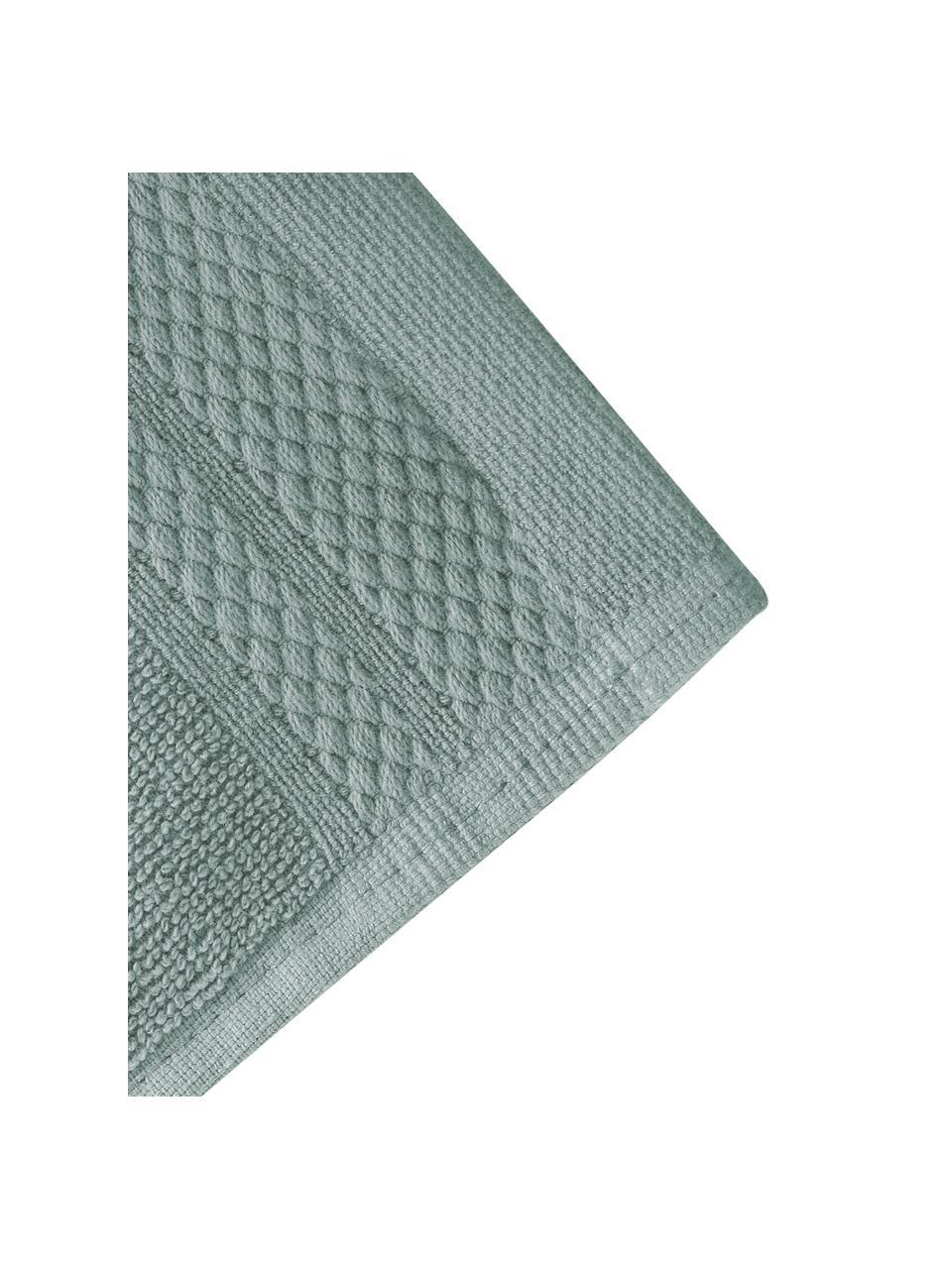 Ręcznik Premium, różne rozmiary, Szałwiowy zielony, Ręcznik dla gości XS