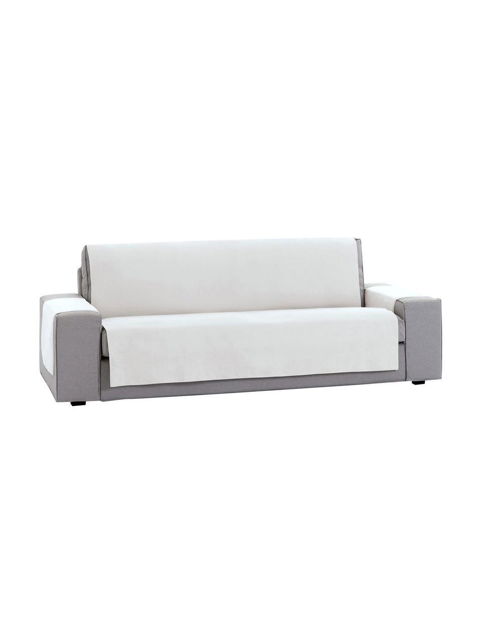 Narzuta na sofę Levante, 65% bawełna, 35% poliester, Odcienie kremowego, S 190 x D 220 cm