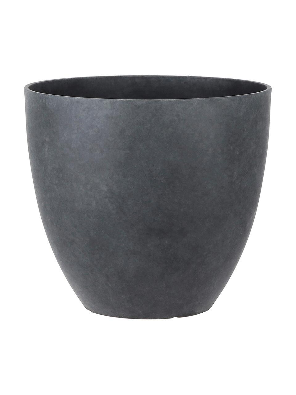Portavaso grande Bravo, Materiale sintetico, Antracite, Ø 37 x Alt. 33 cm