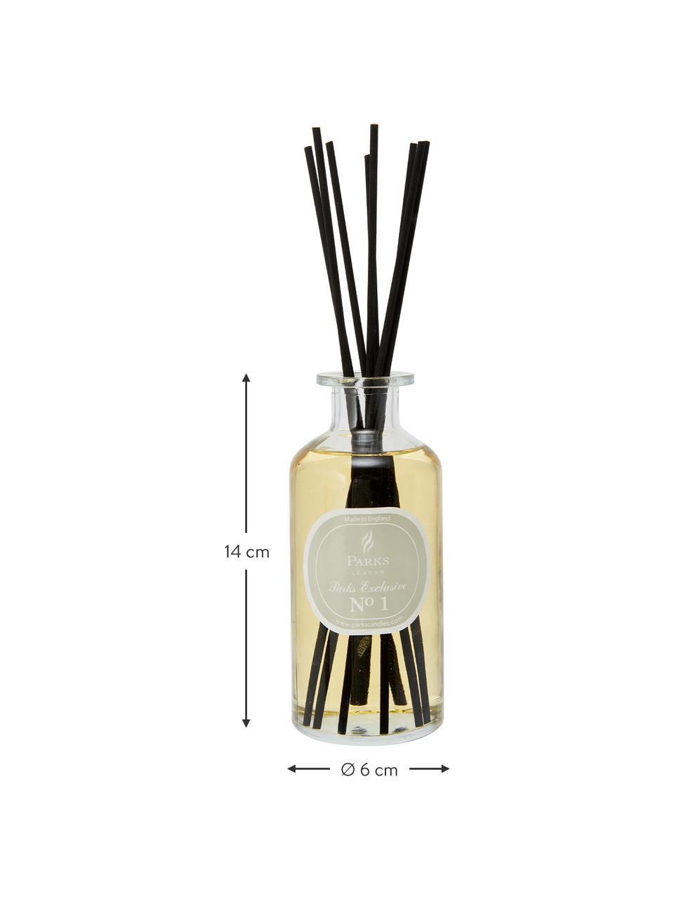 Dyfuzor zapachowy Parks Exclusive No.1 (drzewo sandałowe i wanilia), Transparentny, jasny brązowy, szary, 250 ml
