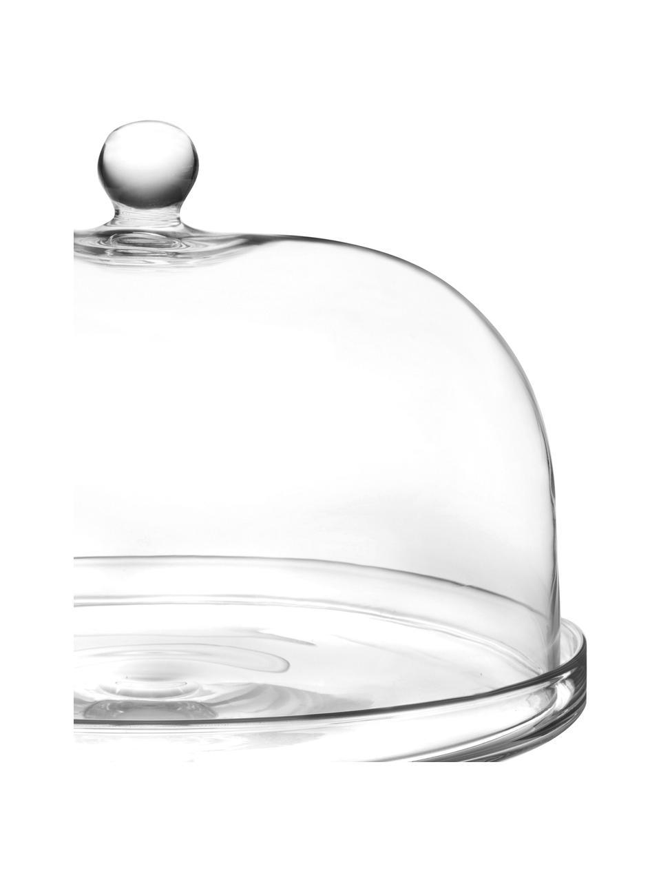 Kryształowa patera Lia, Szkło kryształowe, Transparentny, Ø 30 x 26 cm