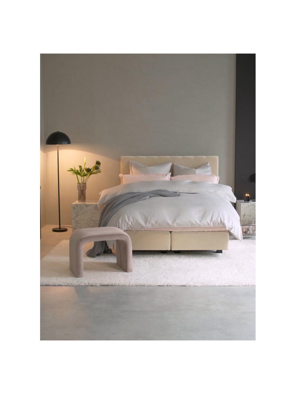 Kontinentální postel premium Lacey, Béžová