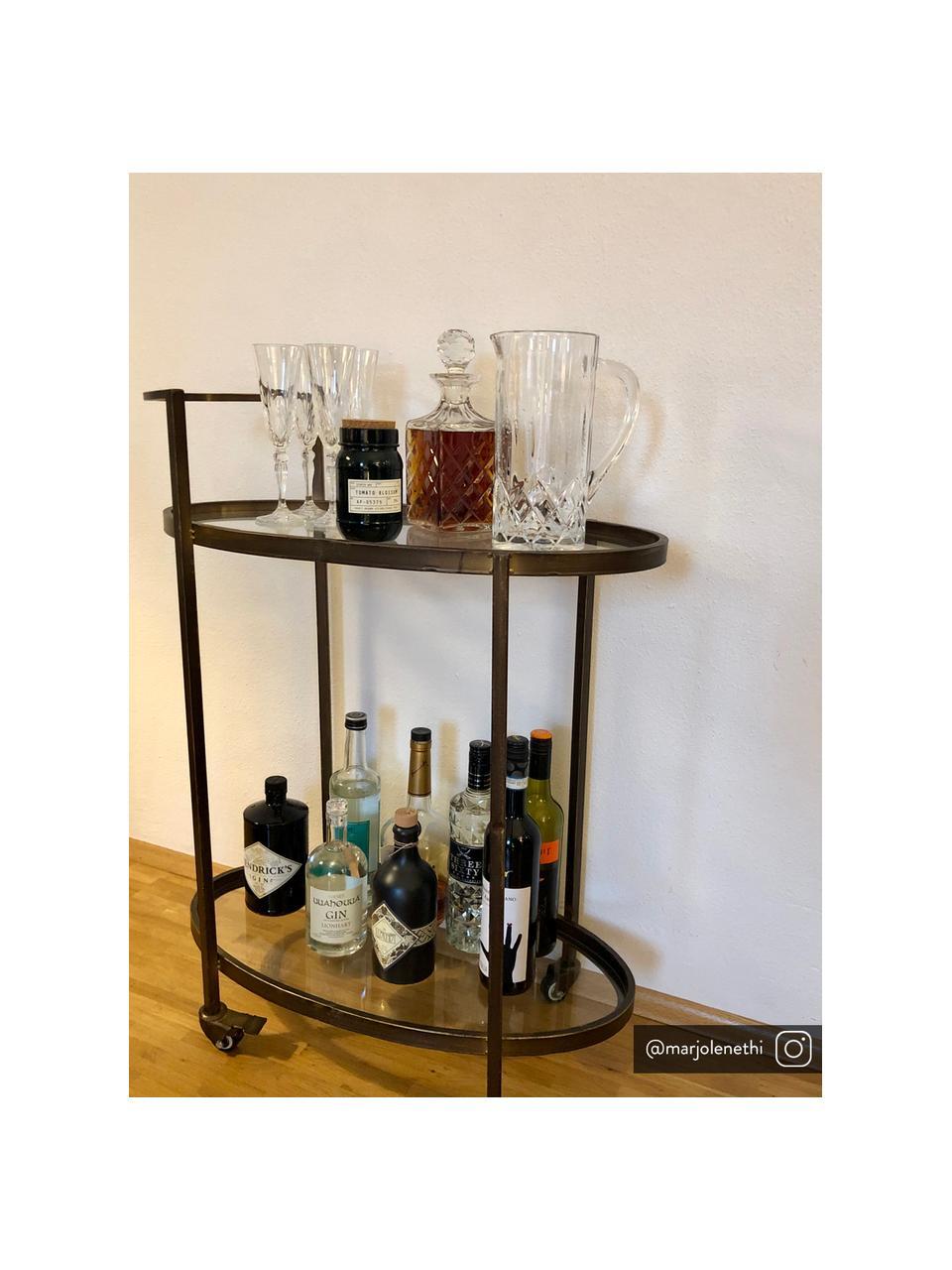 Kryształowy kieliszek do szampana Melodia, 6 szt., Szkło kryształowe, Transparentny, Ø 7 x W 22 cm