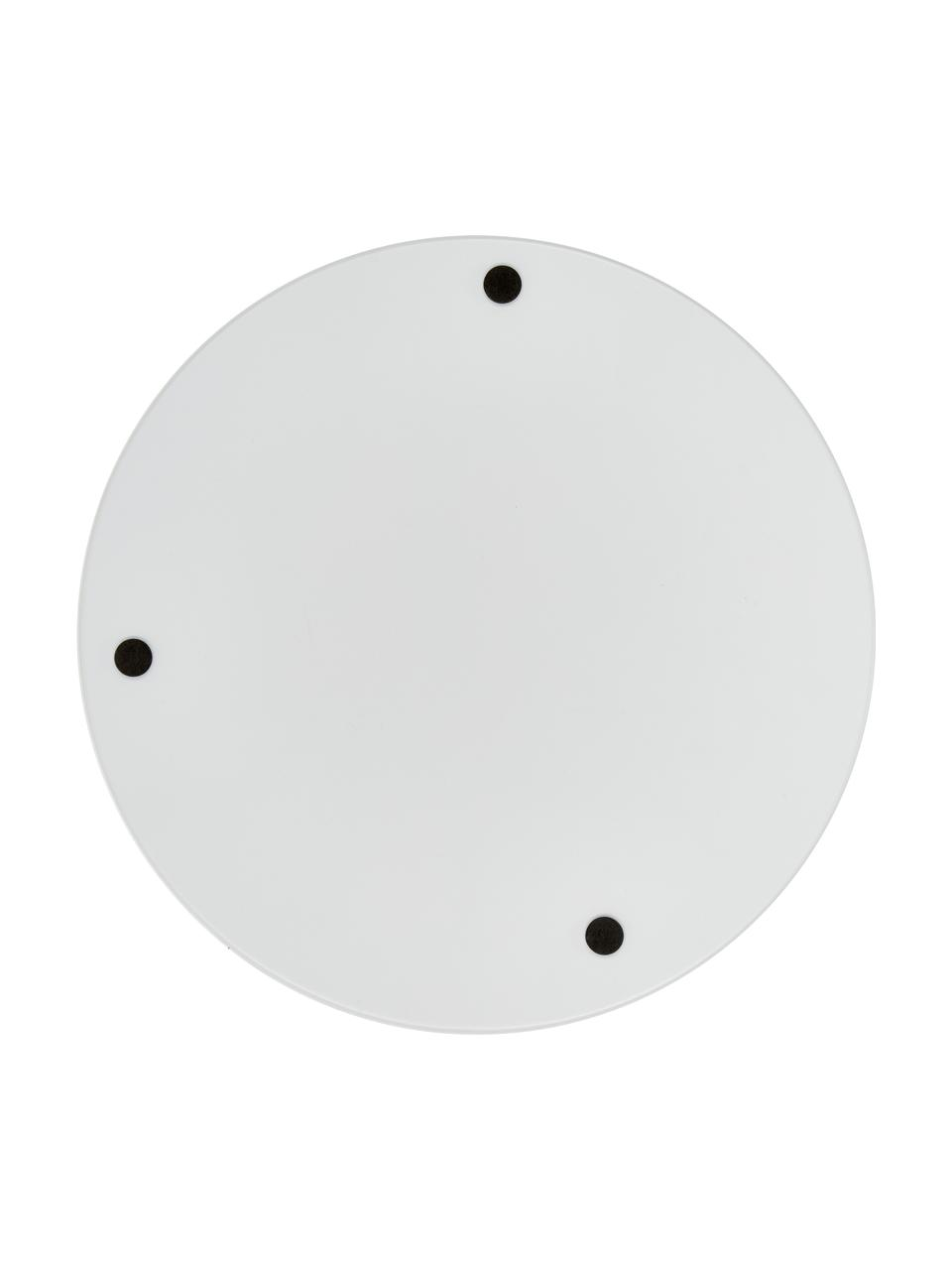 Taca Arla, Metal powlekany, Biały, Ø 41 cm