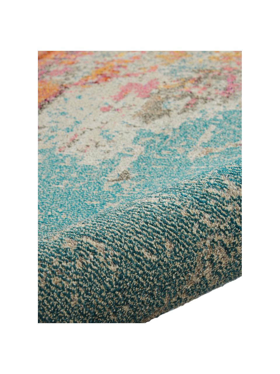Design vloerkleed Celestial in kleur, Bovenzijde: 100% polypropyleen, Onderzijde: jute, Multicolour, B 160 x L 220 cm (maat M)