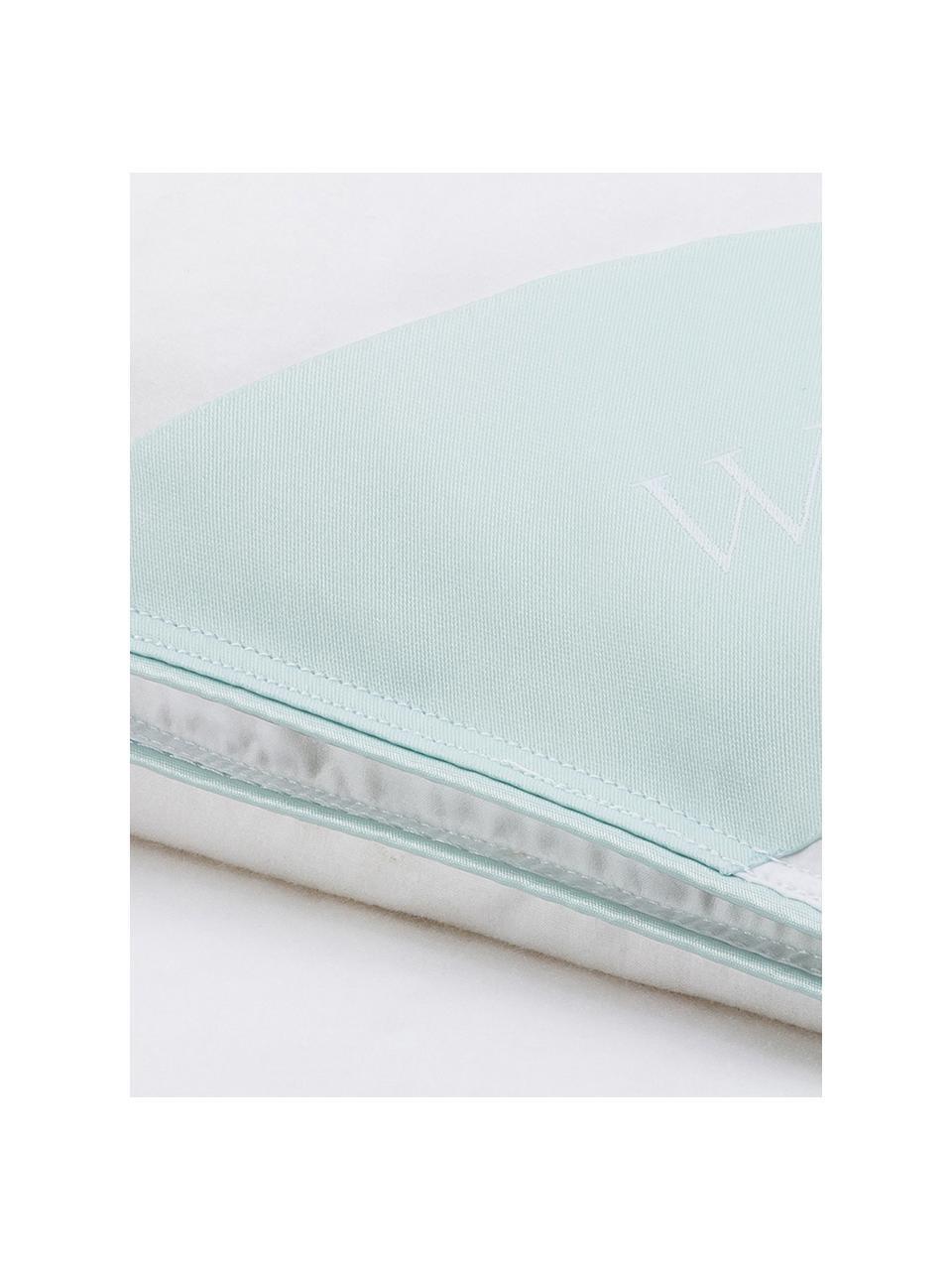 Puchowa kołdra kasetowa Comfort, bardzo ciepła, Biały, S 135 x D 200 cm