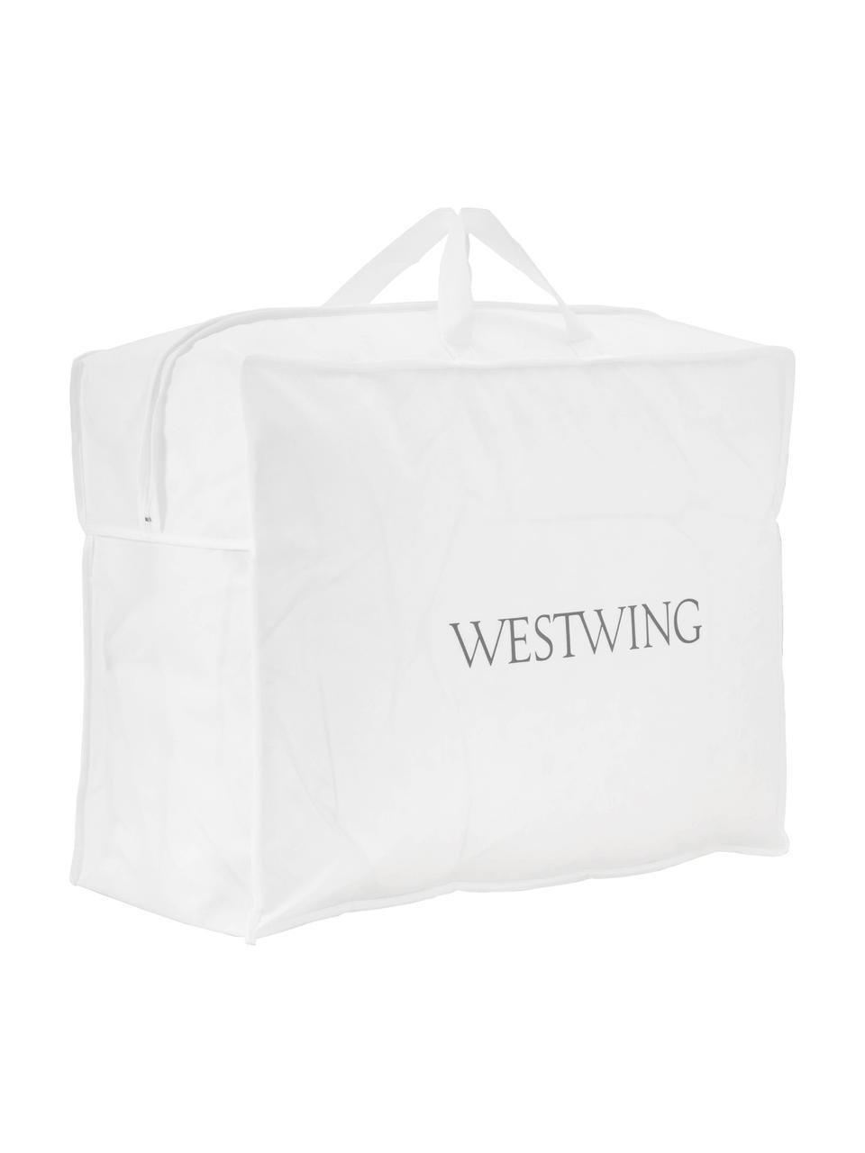 Daunen-Bettdecke Comfort, extra warm, Hülle: 100% Baumwolle, feine Mak, Weiß, 135 x 200 cm