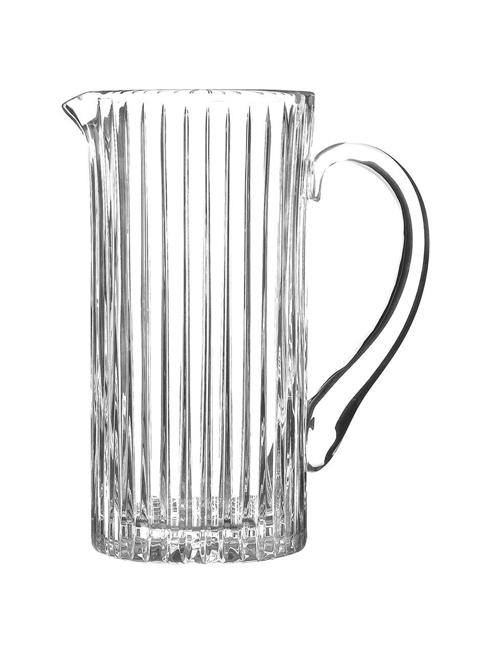 Kryształowy dzbanek Timeless, 1,2 l, Szkło kryształowe Luxion, Transparentny, W 23 cm