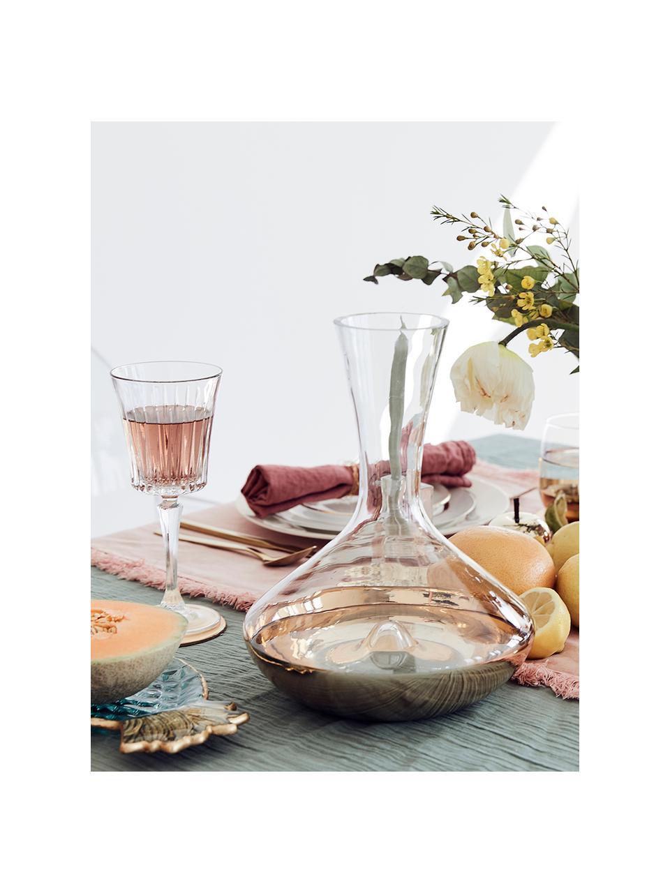 Verre à vin blanc cristal à surface rainuréeTimeless, 6pièces, Transparent