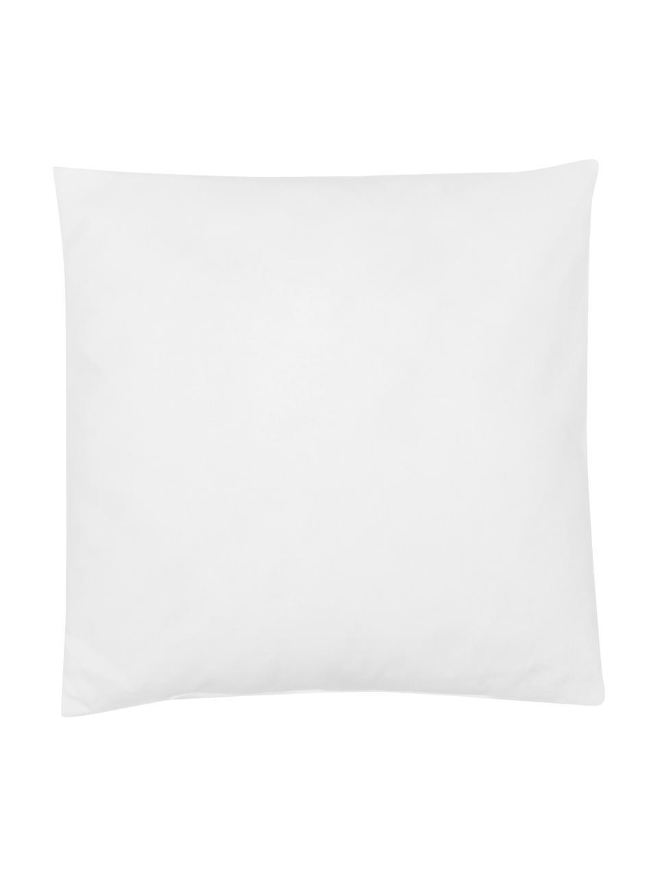Kissen-Inlett Sia, 40x40, Microfaser-Füllung, Hülle: 100% Baumwolle, Weiß, 40 x 40 cm