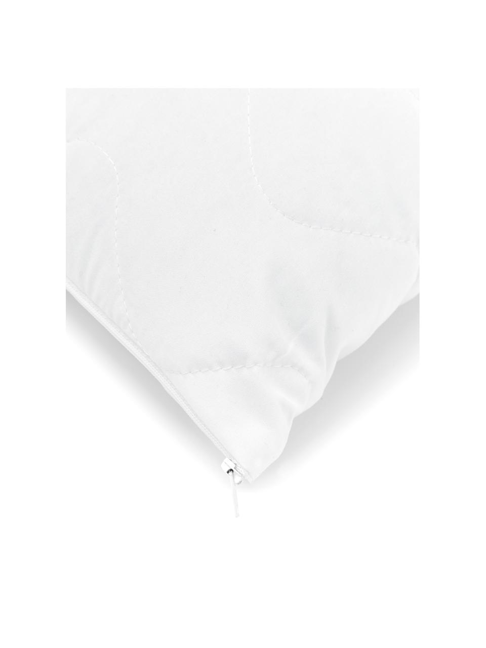 Garnissage de coussin en microfibre Premium Sia, 45x45, Blanc