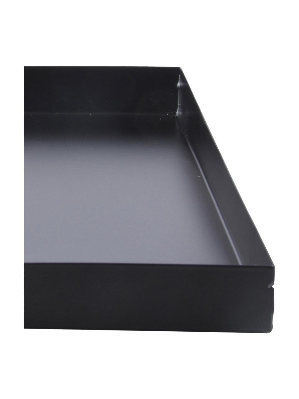 Bodenplatte für Feuerkörbe Quare, Metall, beschichtet, Schwarz, 32 x 3 cm