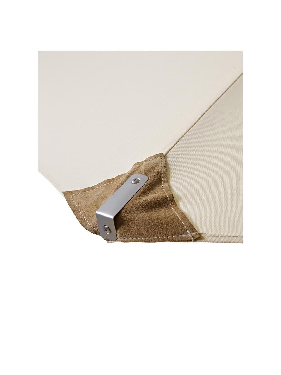 Ombrellone Capri, Struttura: alluminio verniciato a po, Rivestimento: poliestere con imbottitur, Sbiancato, crema, Ø 300 x Alt. 265 cm