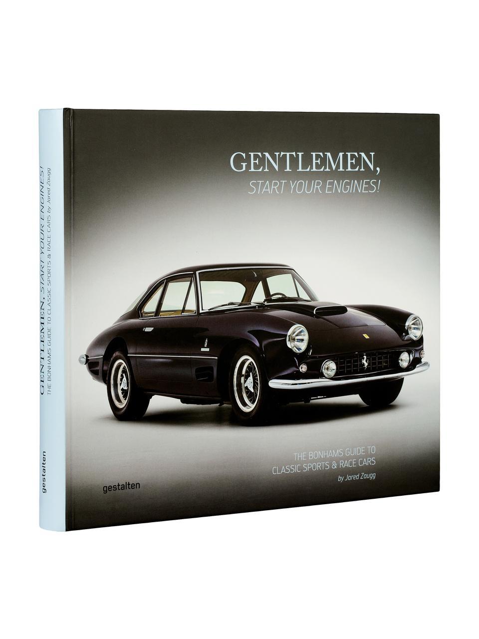 Bildband Gentlemen, start your engines!, Papier, Hardcover, Mehrfarbig, 27 x 30 cm
