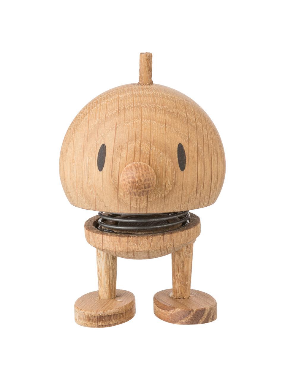 Oggetto decorativo Baby Woody Bumble, Struttura: legno di quercia, Marrone, Ø 5 x A 7 cm