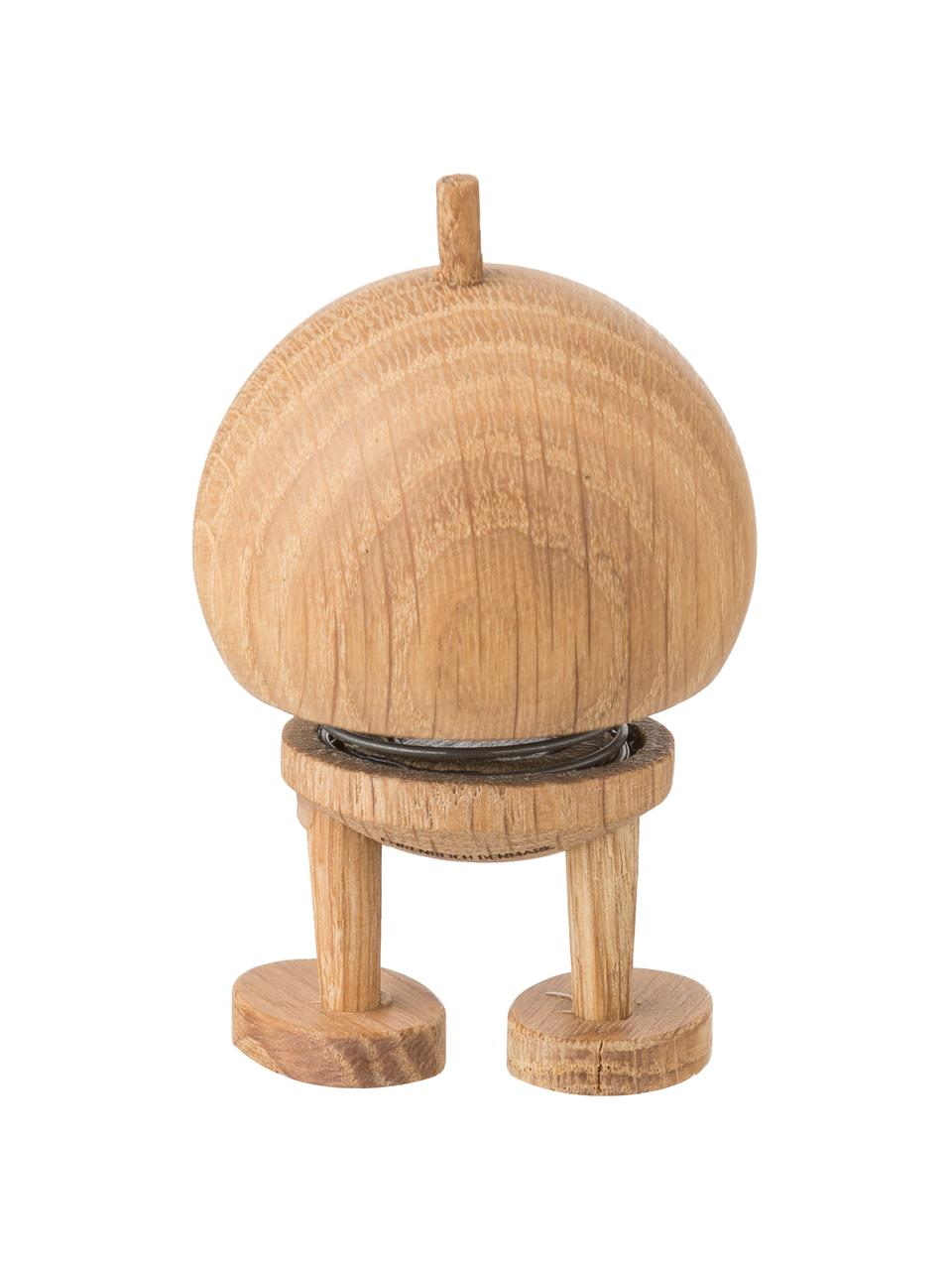 Deko-Objekt Baby Woody Bumble, Korpus: Eichenholz, Braun, Ø 5 x H 7 cm