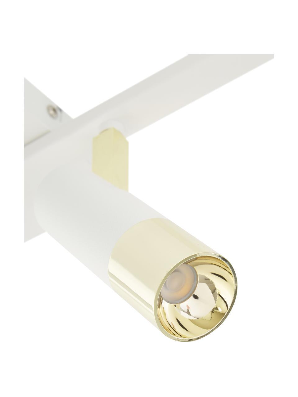 Lampa sufitowa LED Bobby, Biały, S 86 x W 13 cm