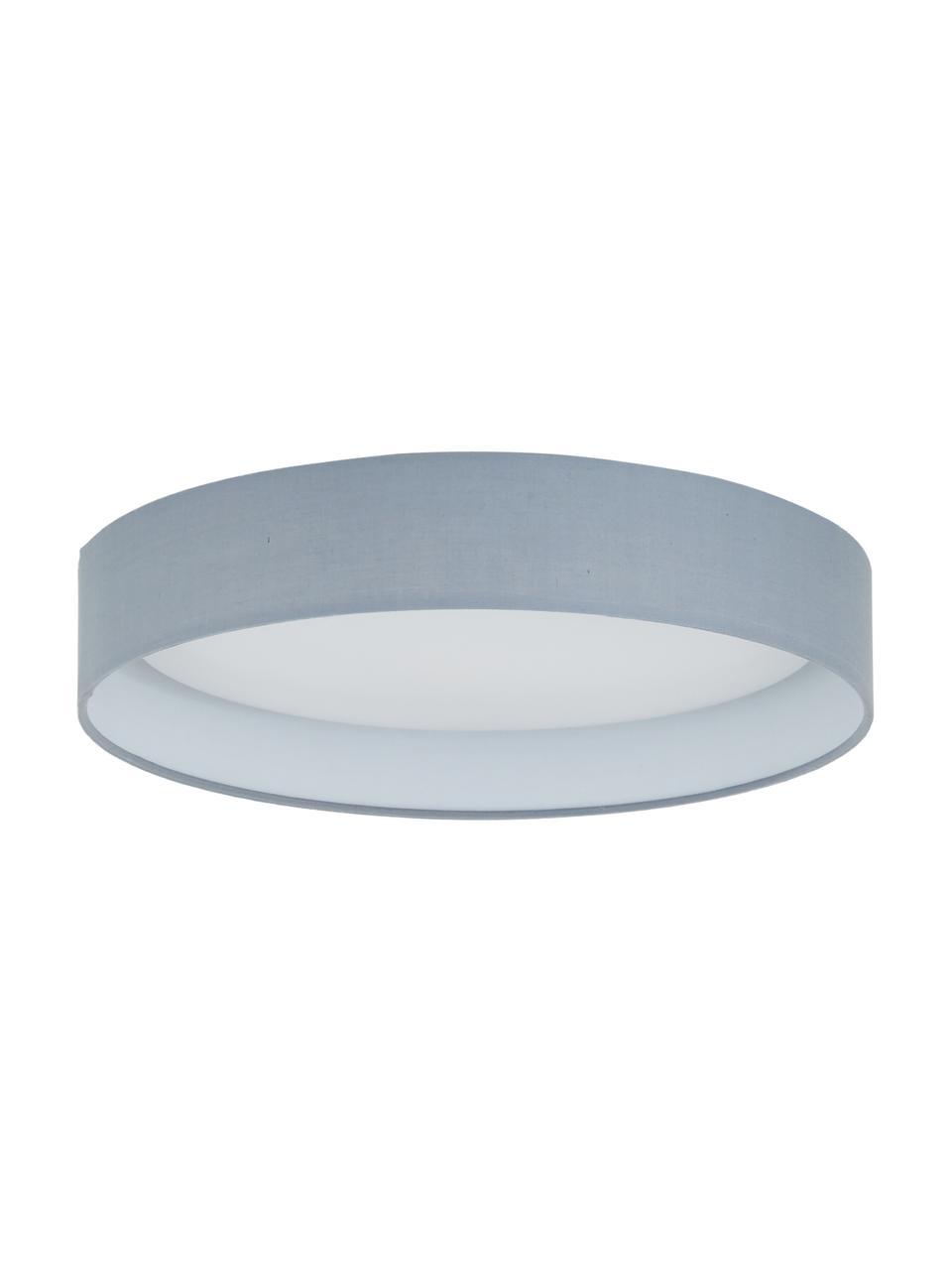 Plafonnier LED rond gris Helen, Gris
