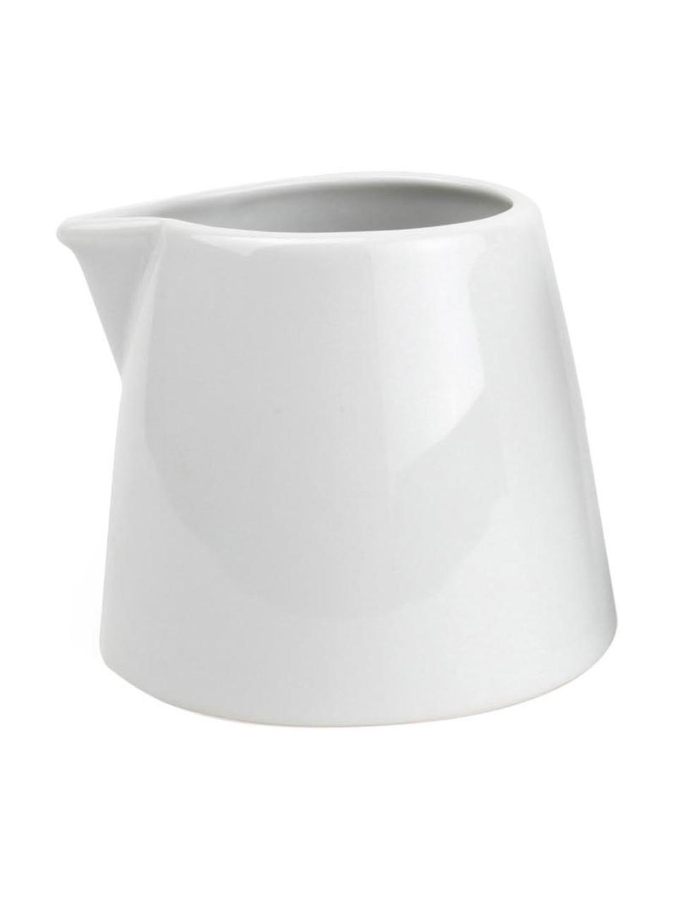 Ensemble à thé porcelaine Stripeless, 2élém., Blanc