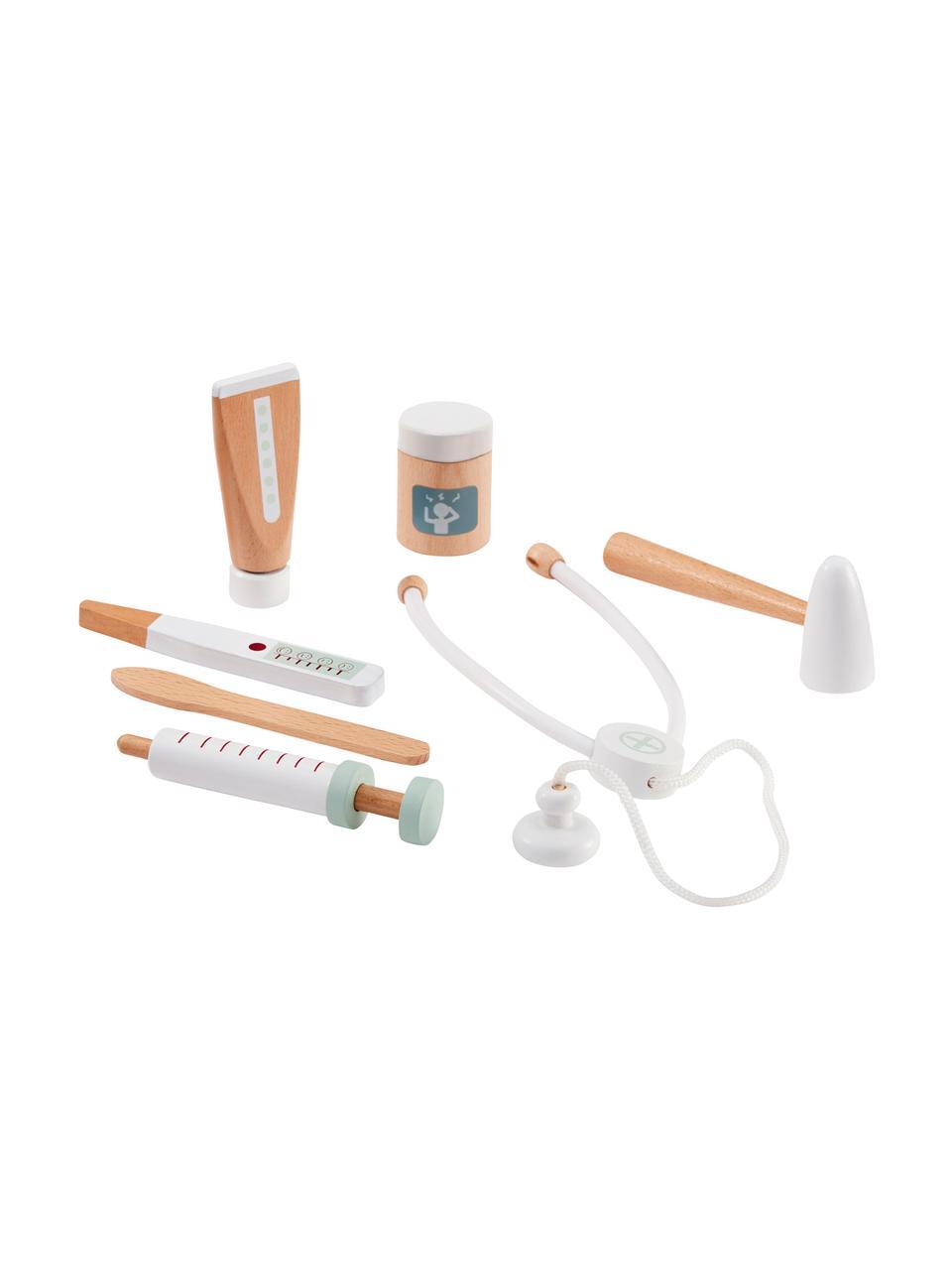 Spielzeug-Set Doctor, Weiß, Mehrfarbig, 20 x 8 cm