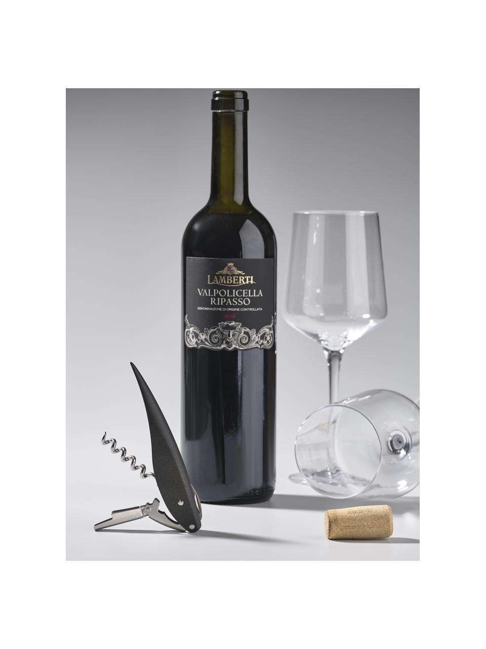 Nożyk kelnerski Rocks, Stal, tworzywo sztuczne (ABS), Odcienie srebrnego, czarny, D 13 x S 2 cm