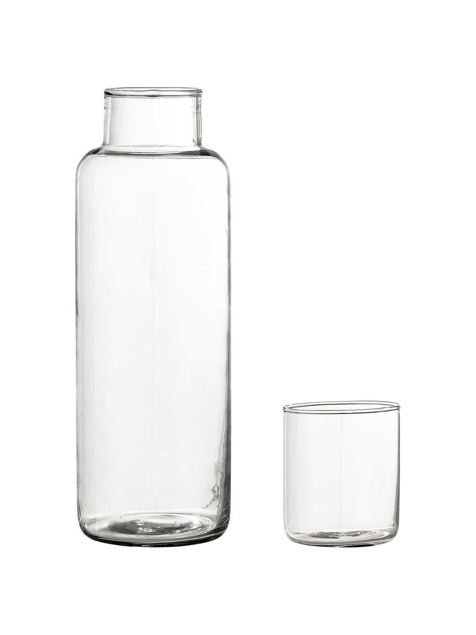 Carafe et verre Luna, Transparent