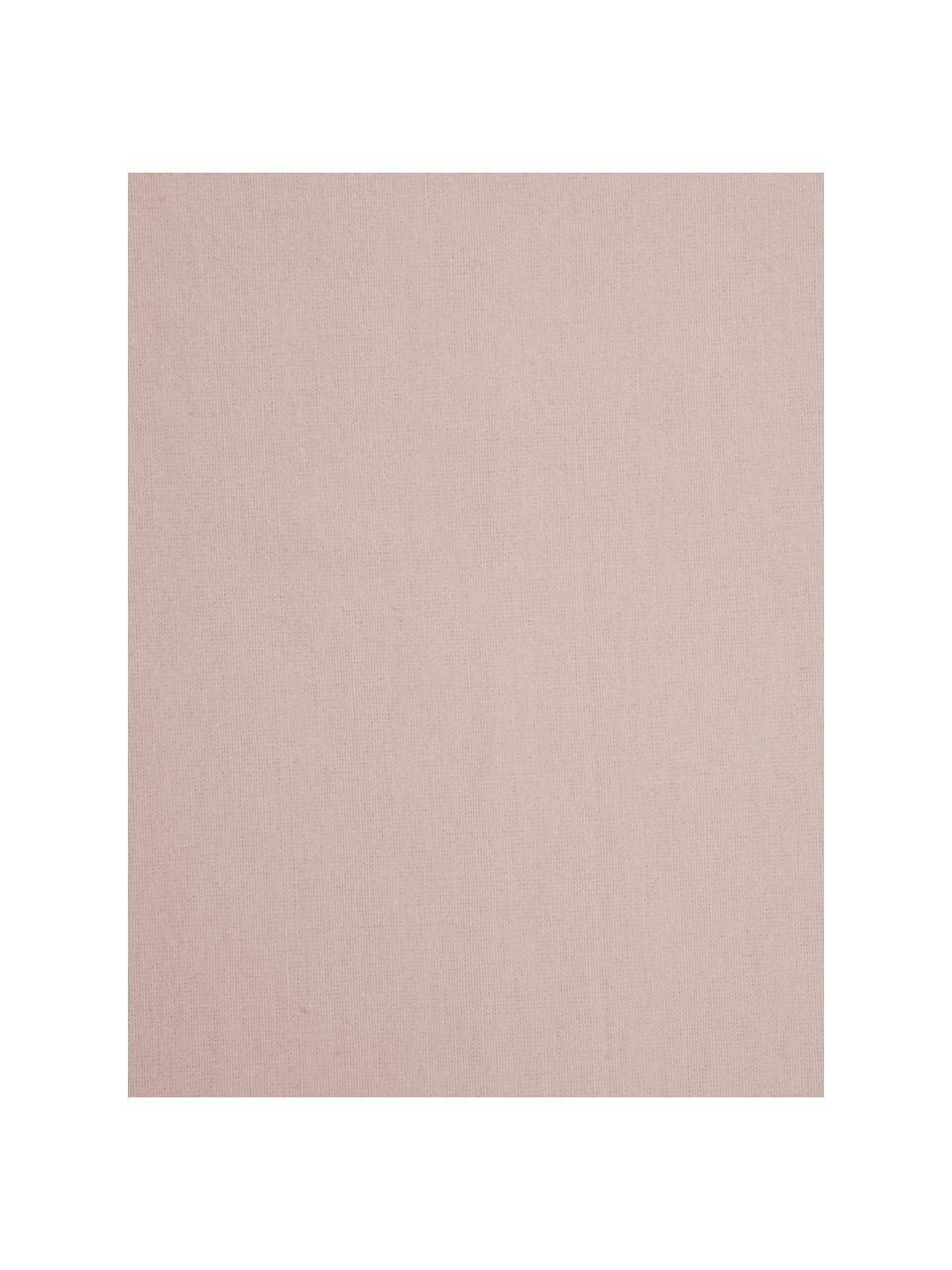 Flanell-Spannbettlaken Biba in Rosa, Webart: Flanell, Rosa, 90 x 200 cm