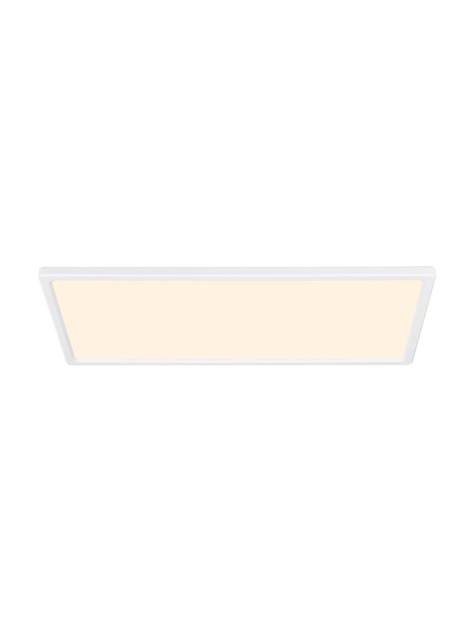 Plafoniera a LED dimmerabile Harlow, Paralume: materiale sintetico, Struttura: materiale sintetico, Bianco, Larg. 60 x Alt. 3 cm
