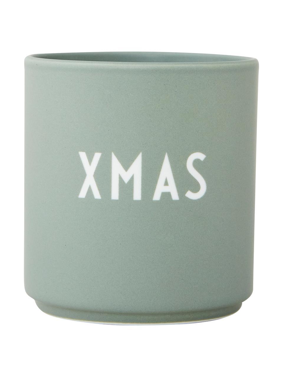 Mug design vert Favorite XMAS, Vert, blanc