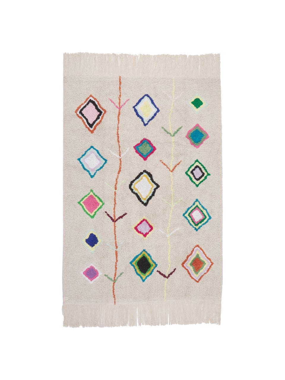 Tapis multicolore fait main Kaarol, Multicolore