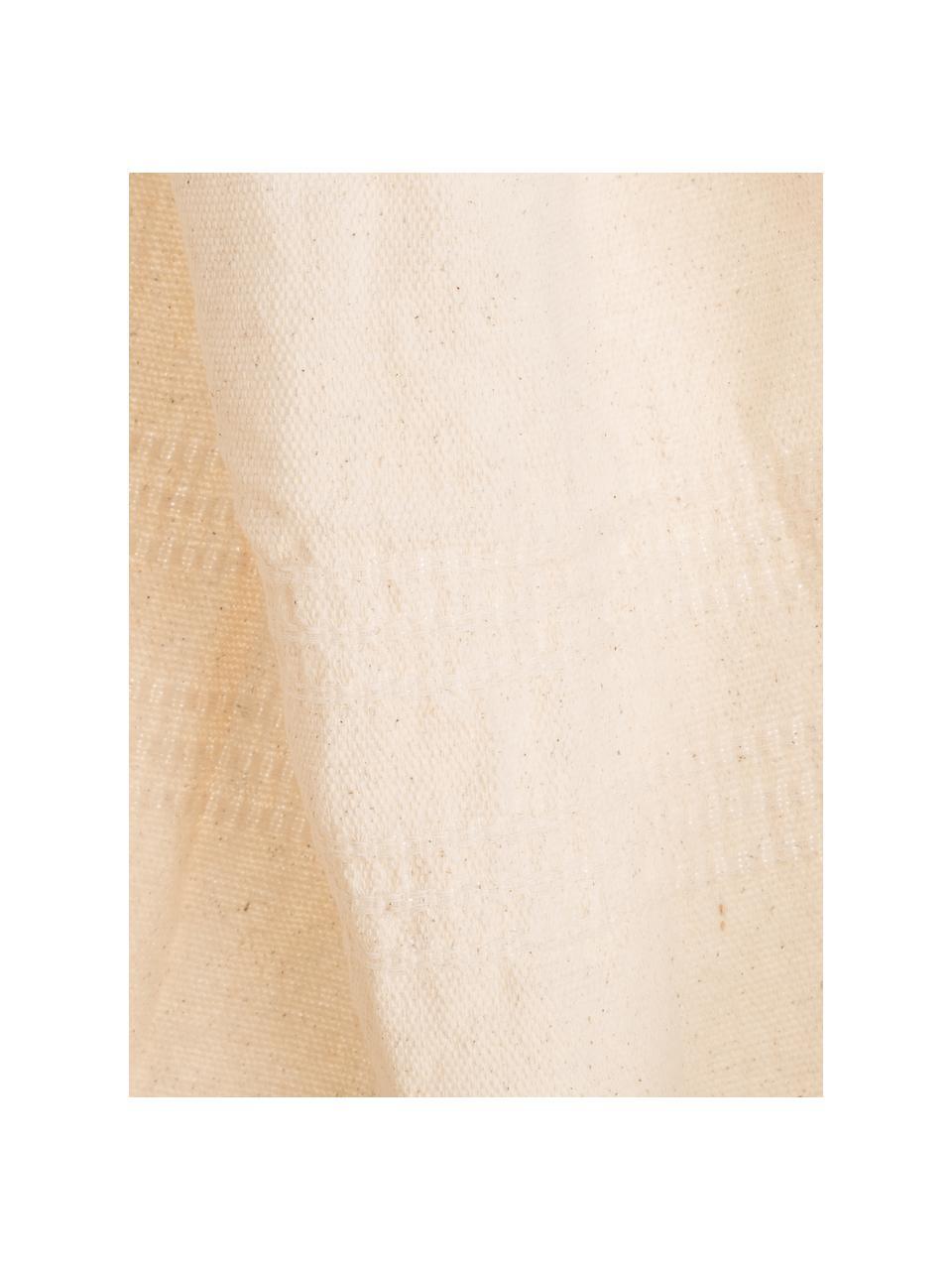 Hängesessel Brasil aus Baumwolle in Naturfarben, Beige, 130 x 160 cm