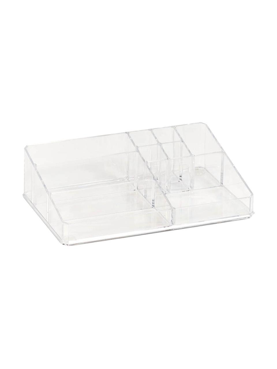 Organizer na kosmetyki Clear, Tworzywo sztuczne, Transparentny, S 32 x W 9 cm