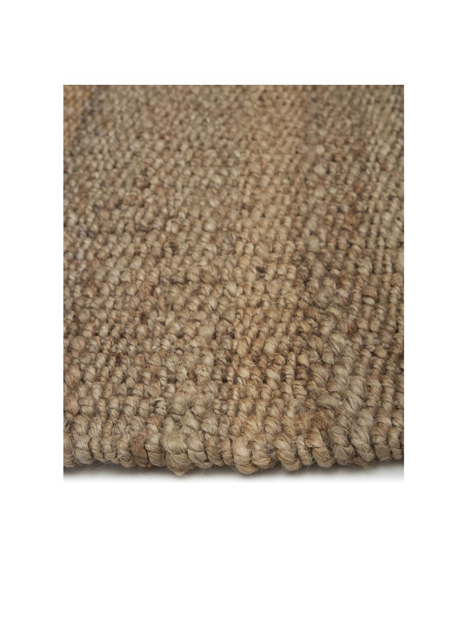 Tappeto in juta taftato a mano con frange Naturals, 100% juta, Juta, Larg. 200 x Lung. 300 cm (taglia L)