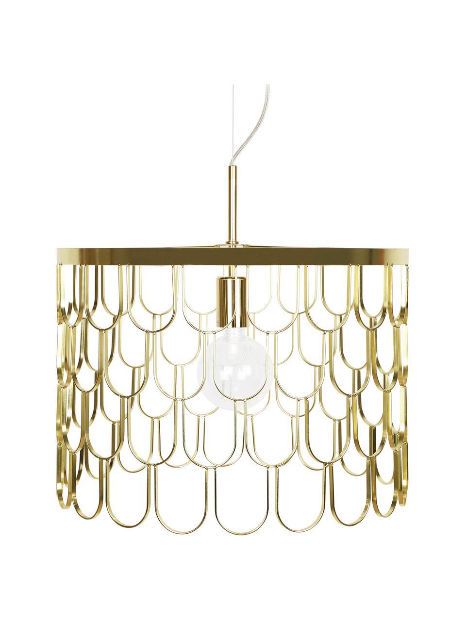 Lampa wisząca Gatsby, Mosiądz, Ø 45 x W 32 cm