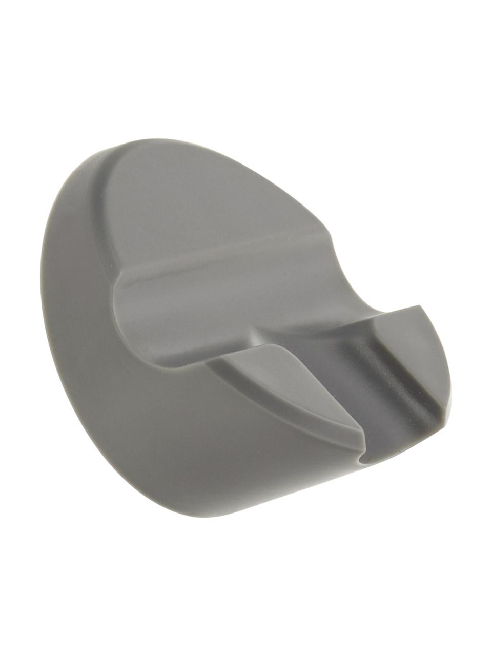 Raamwisserset Shiba, 2-delig, Raamwisser: kunststof (ABS), Rand: siliconen, Grijs, 21 x 5 cm