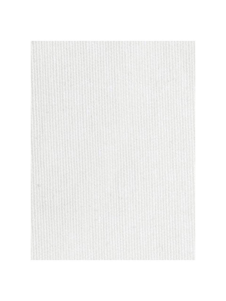 Copridivano Levante, 65% cotone, 35% poliestere, Color crema, Larg. 160 x Alt. 110 cm
