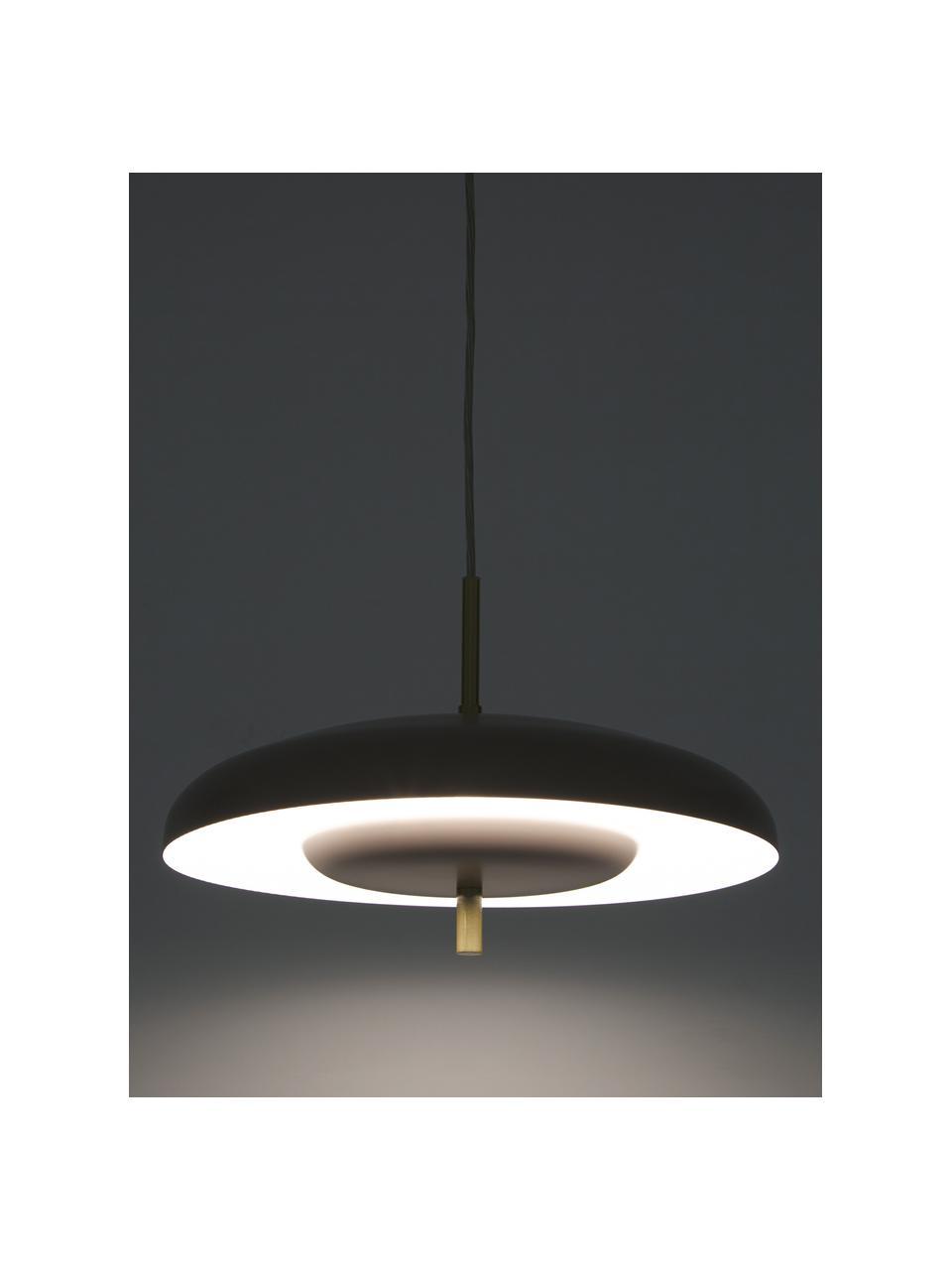 Lampa wisząca scandi Mathea, Taupe, Ø 38 x W 8 cm