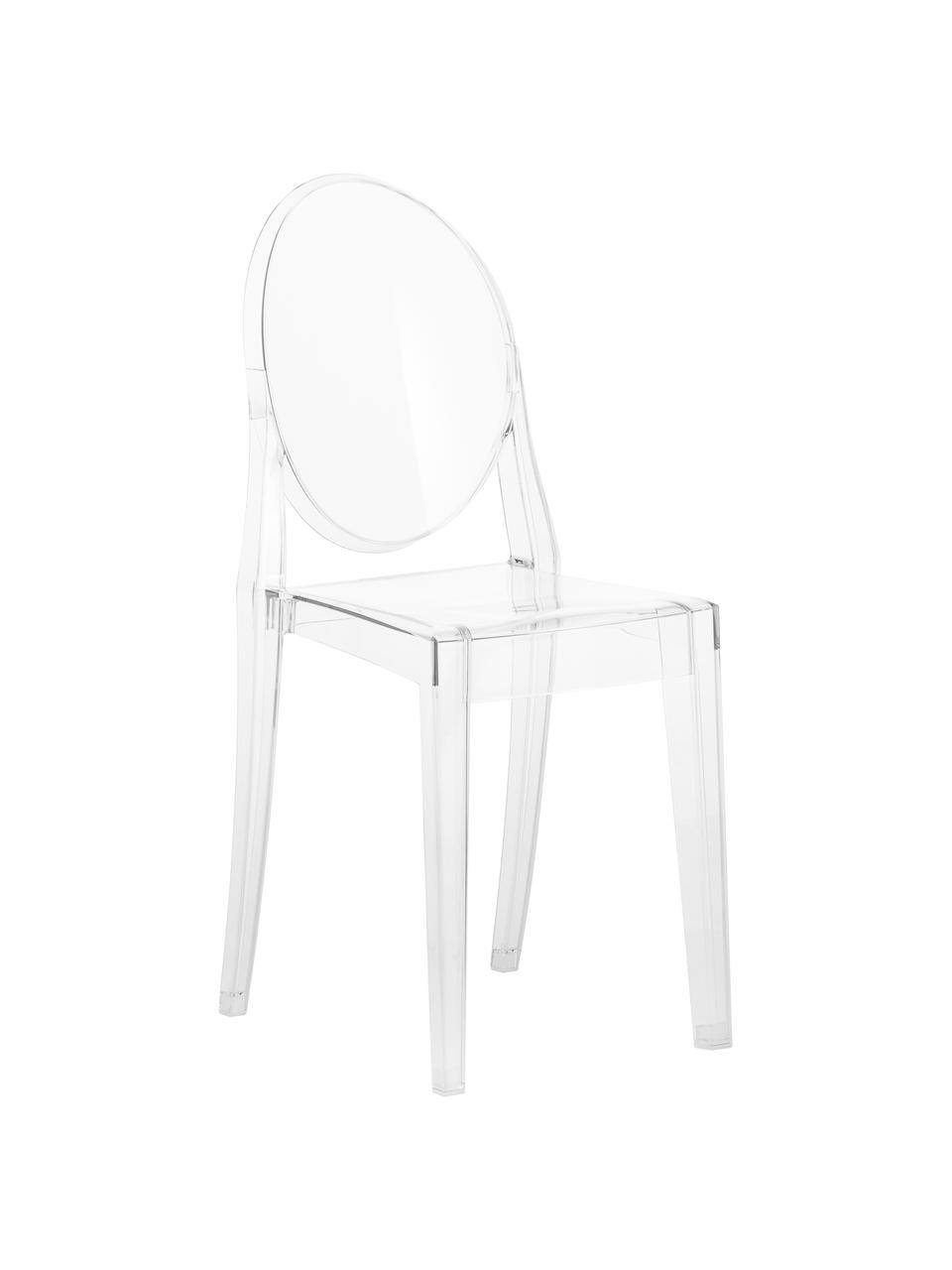 Průhledná židle Ghost, Transparentní