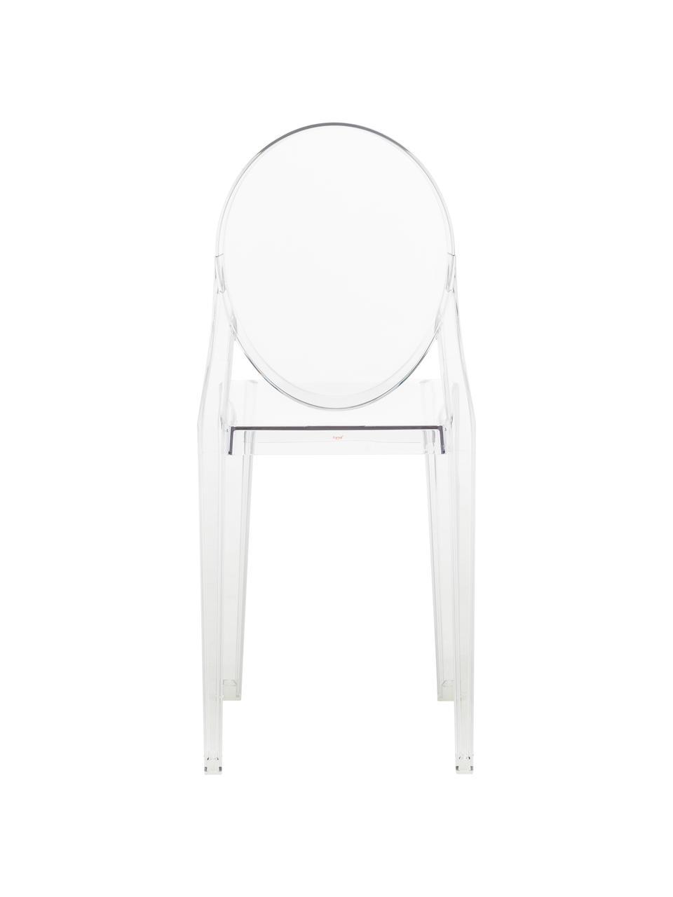 Krzesło Ghost, Poliwęglan, Transparentny, S 38 x W 89 cm