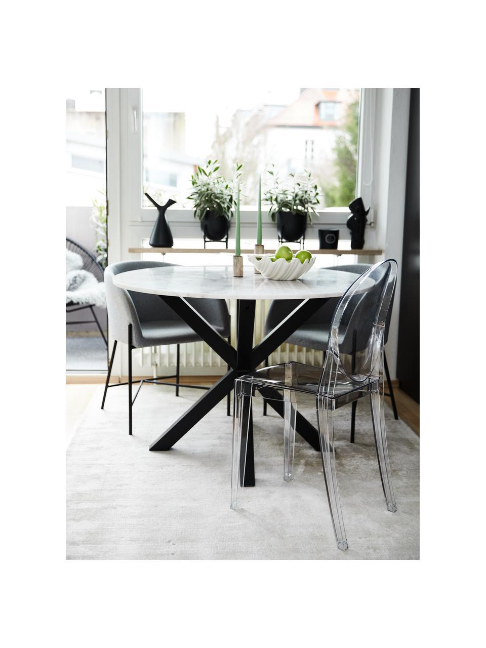 Transparenter Stuhl Ghost, Polykarbonat, Transparent, B 38 x T 52 cm