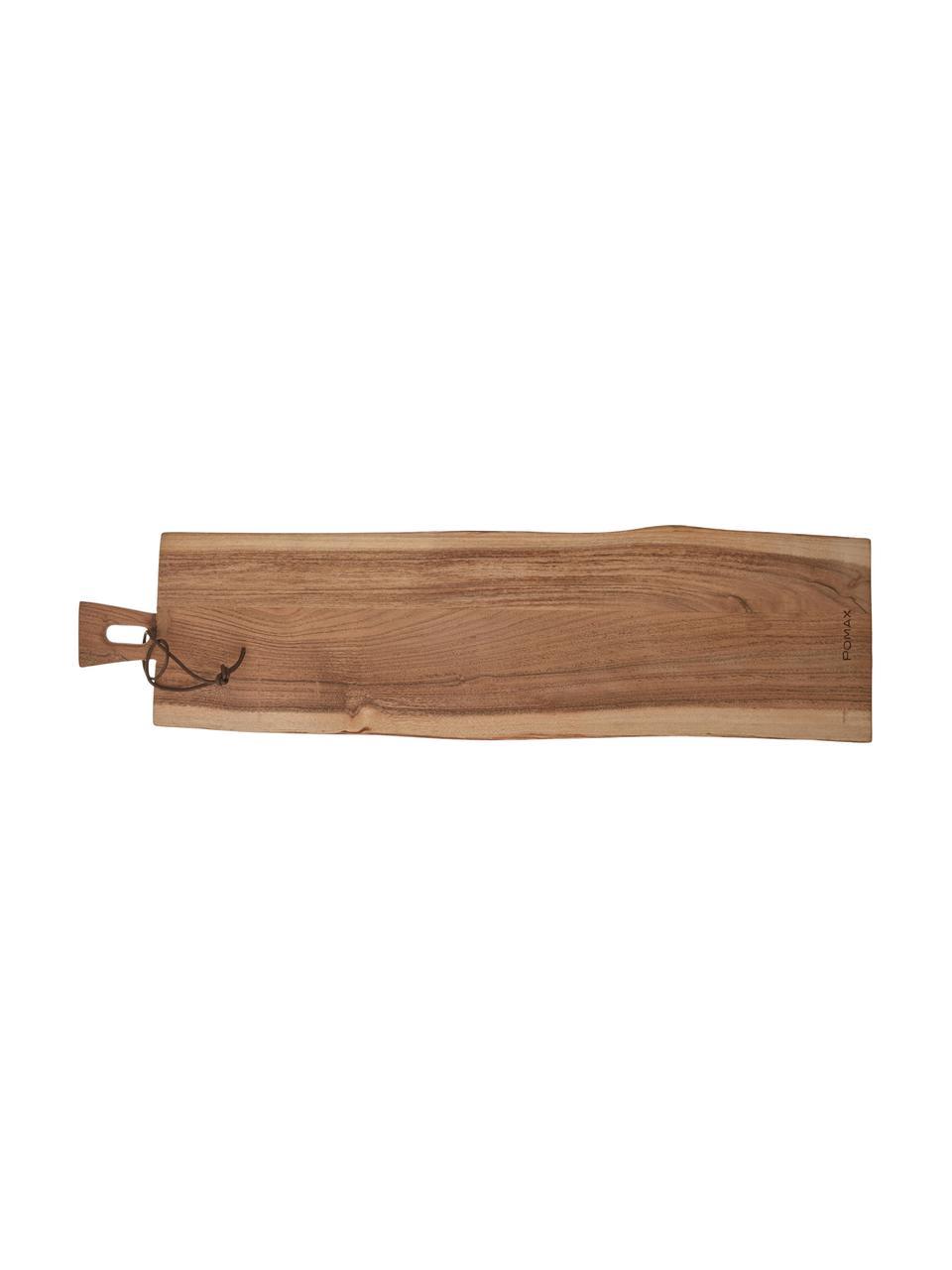 Deska do krojenia z drewna akacjowego Limitless, Drewno akacjowe, Drewno akacjowe, D 65 x S 15 cm
