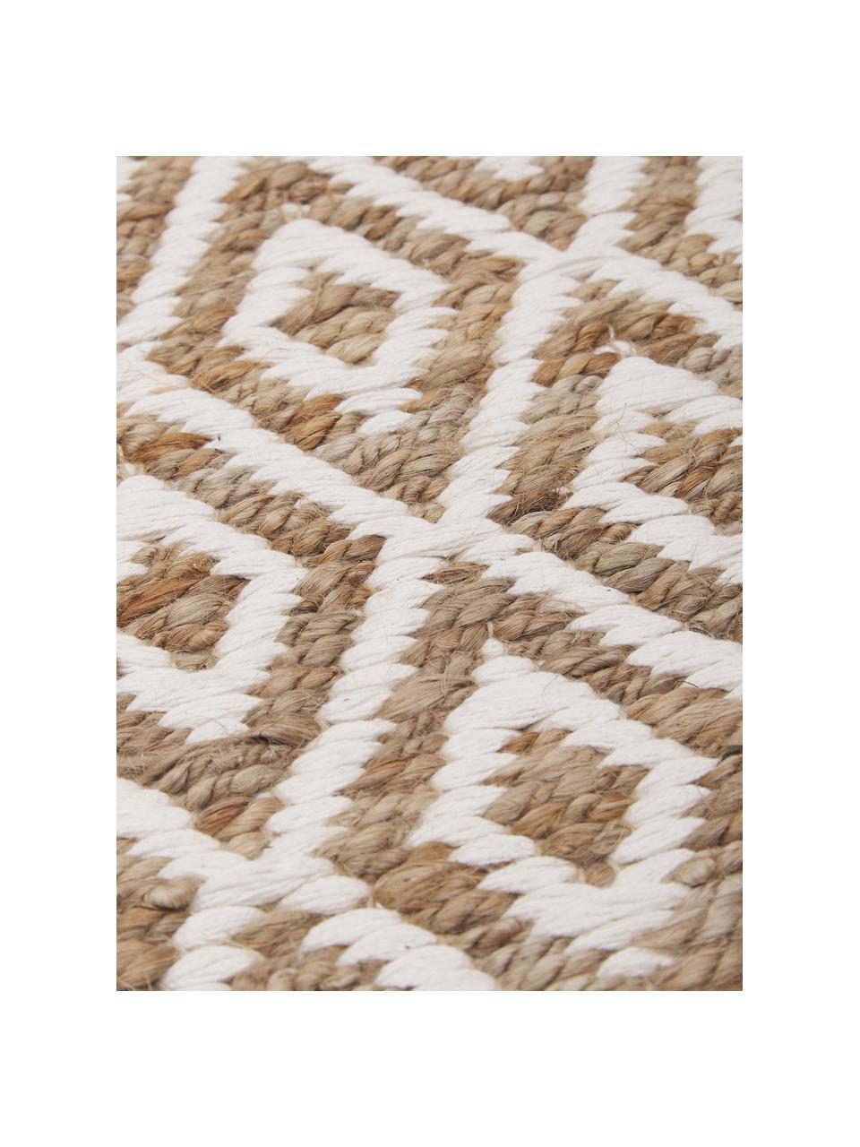 Handgefertigter Jute-Teppich Ramos, 100% Jute, Beige, B 200 x L 300 cm (Größe L)