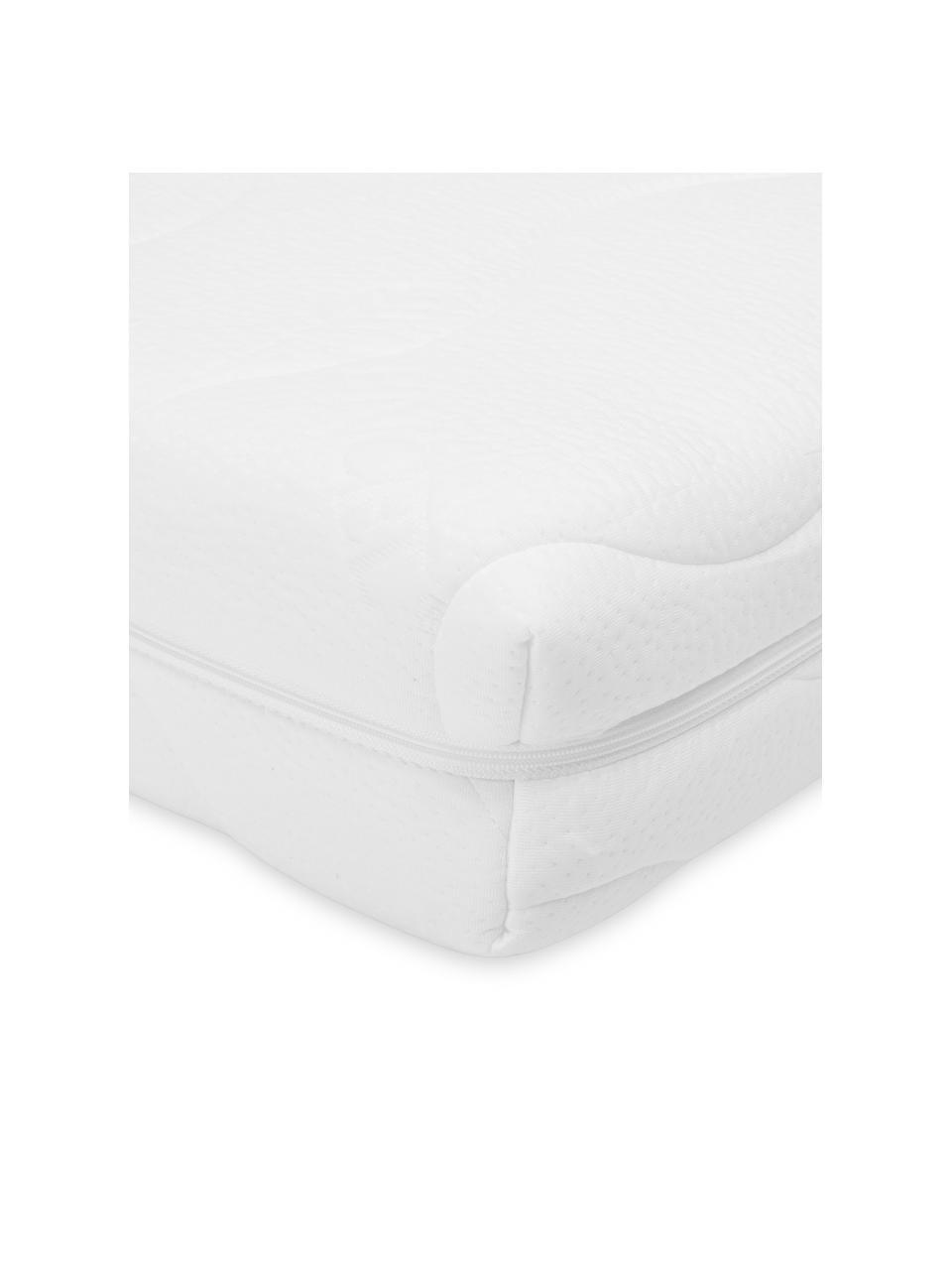 Materac z zimnej pianki Vital, Tapicerka: podwójny jersey z TENCEL®, Biały, S 90 x D 200 cm