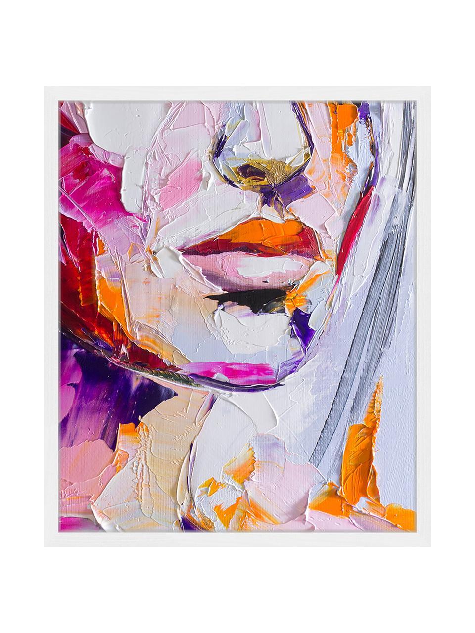 Gerahmter Digitaldruck Cranberry In Sugar, Bild: Digitaldruck auf Papier, , Rahmen: Holz, lackiert, Front: Plexiglas, Mehrfarbig, 53 x 63 cm